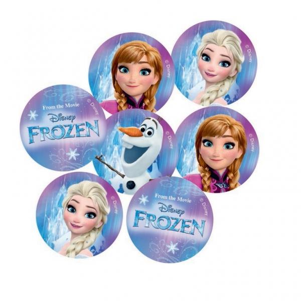 Rappa PROCOS konfety FROZEN - Ľadové kráľovstvo 14 gramov