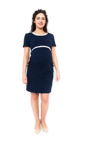 Tehotenské šaty vhodné aj na dojčenie Aldona