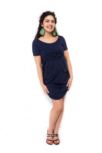 Tehotenské šaty Vivian granát