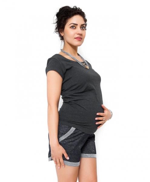 Tehotenské kraťasy Nadia - granát