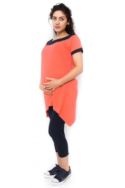 Tehotenské tričko/tunika vhodné aj na dojčenie Leda