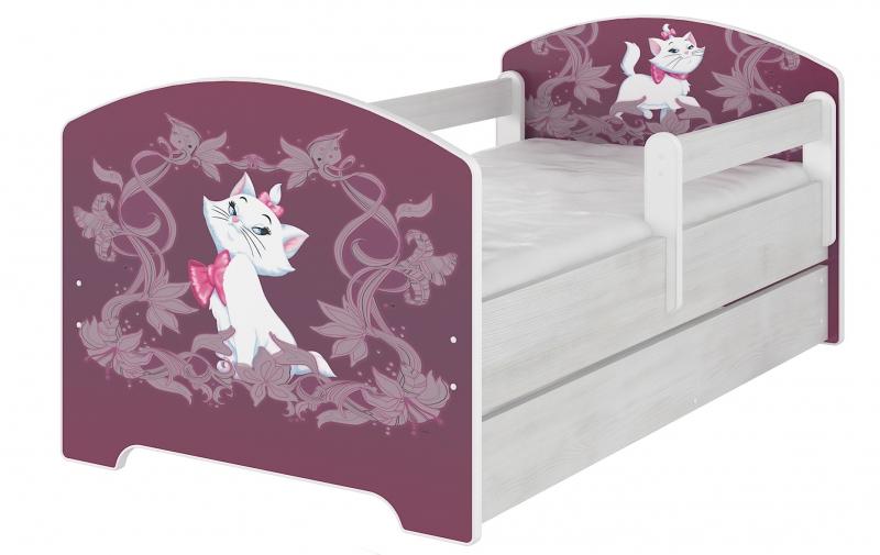 Detská postel Disney s šuplíkom - MARIE