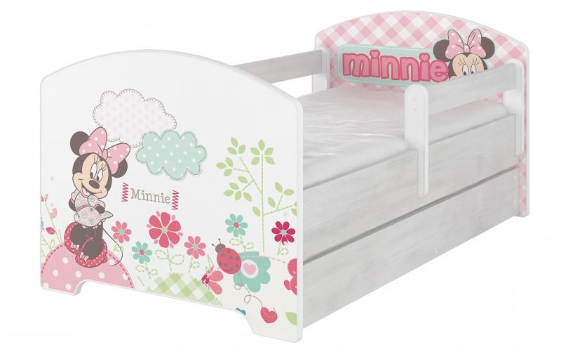 BabyBoo Detská postel Disney s šuplíkom - Minnie, D19