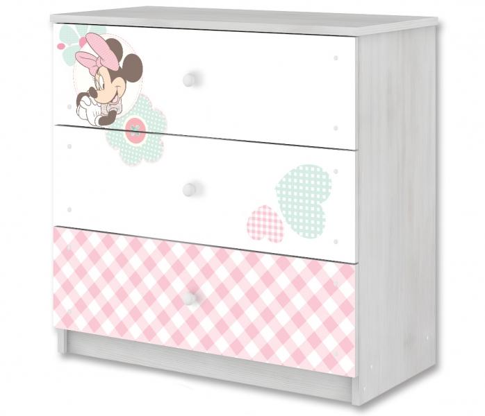 BabyBoo Disney detská komoda - Minnie