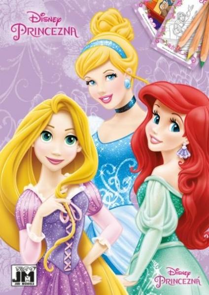 Rappa Omaľovánka A5 Disney Princezné