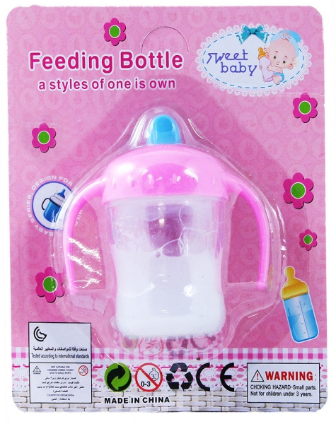 Fľaša s mliekom pre bábiku