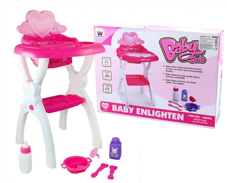 Stolička jedálenský pre bábiky