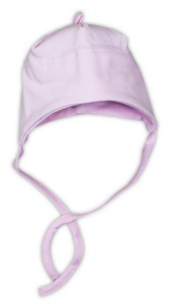 Bavlnená čiapočka NICOL - ružová