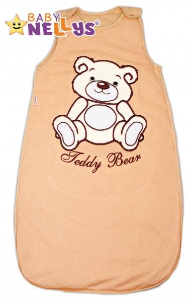 Spací vak Medvedík Teddy, Baby Nellys - hnedý vel. 2+