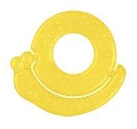 BabyOno Hryzátko gélové Baby Ono Slimák - žltý