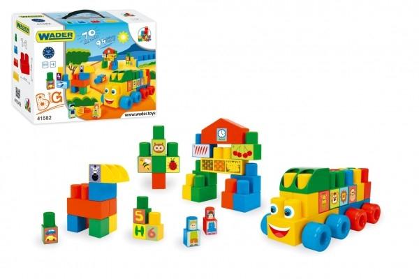 Teddies Kocky Middle Blocks plast 70ks v krabici 12m + Wader