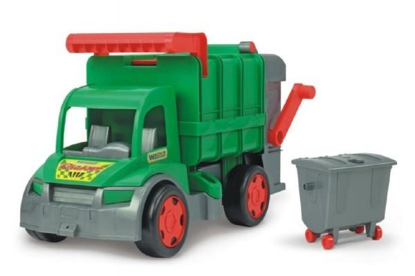 Teddies Auto Gigant smetiar plast 65cm Wader Farmer