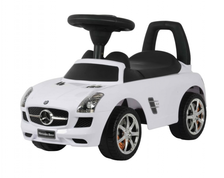 Jezdítko, odrážadlo Mercedes-Benz - biele