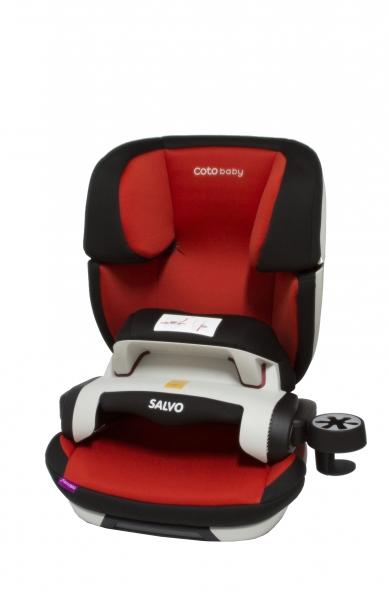 Coto Baby Autosedačka Sakvi Isofix - skupina 9-36 kg - červená