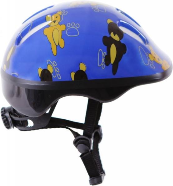 Bezpečnostná detská prilba - modrá s obrázkom