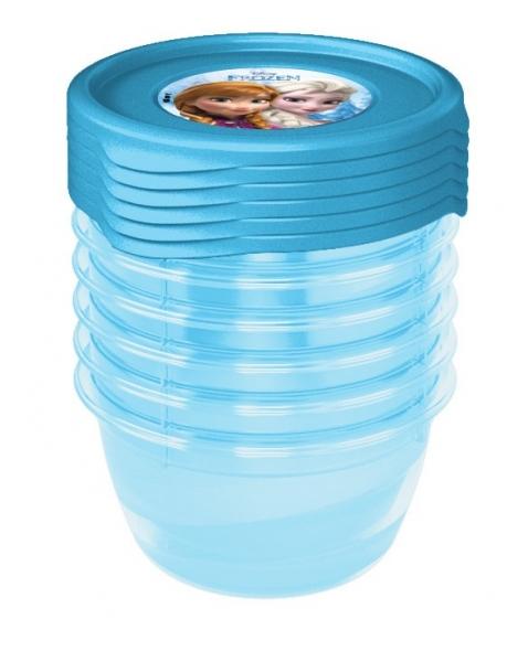 Súprava plastových škatuliek Frozen 0,35l - 6 ks