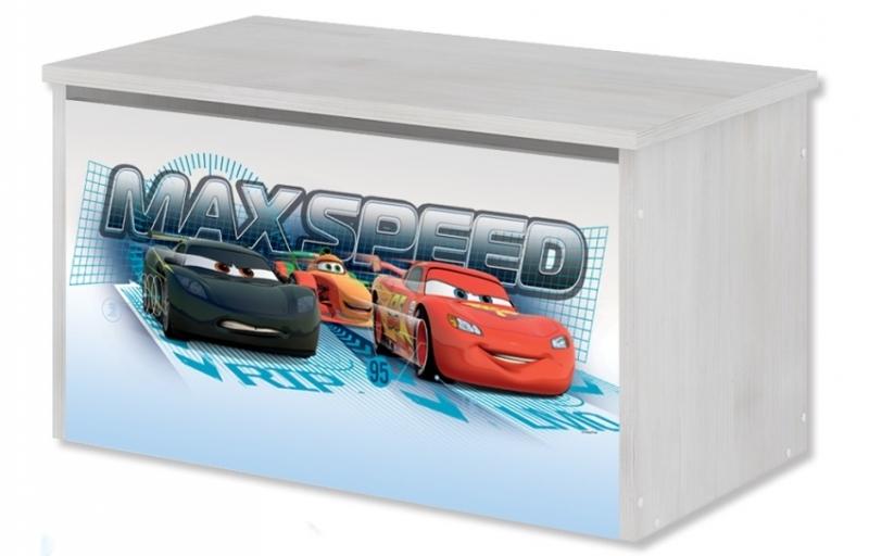 Box na hračky, truhla Disney - Cars