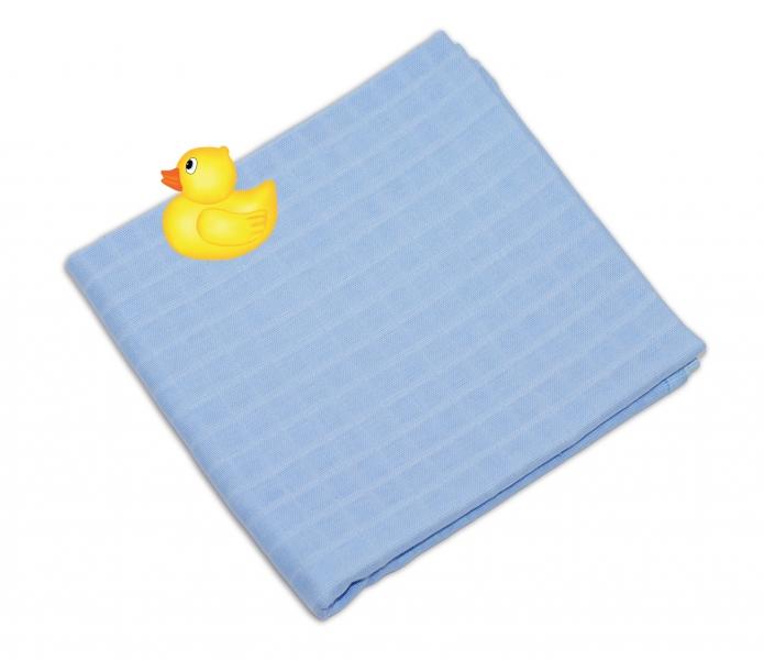 Sada detských plienkových osušiek - modrá 2ks
