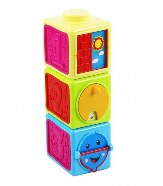 Rappa Farebné kocky naučné  baby 3 ks