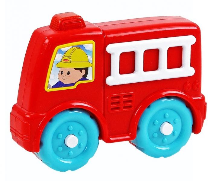 Rappa Farebné hasičské auto so zvukom
