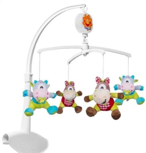 Kolotoč nad postieľku Baby Ono - Kravičky a koníčky