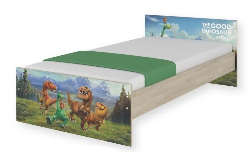 Detská junior posteľ Disney 180x90cm - Dinosaurus