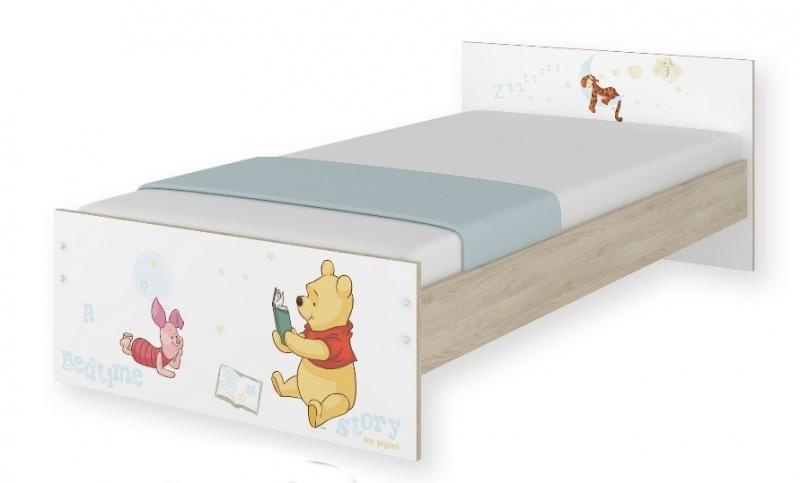 Detská junior posteľ Disney 180x90cm - Medvedík PÚ