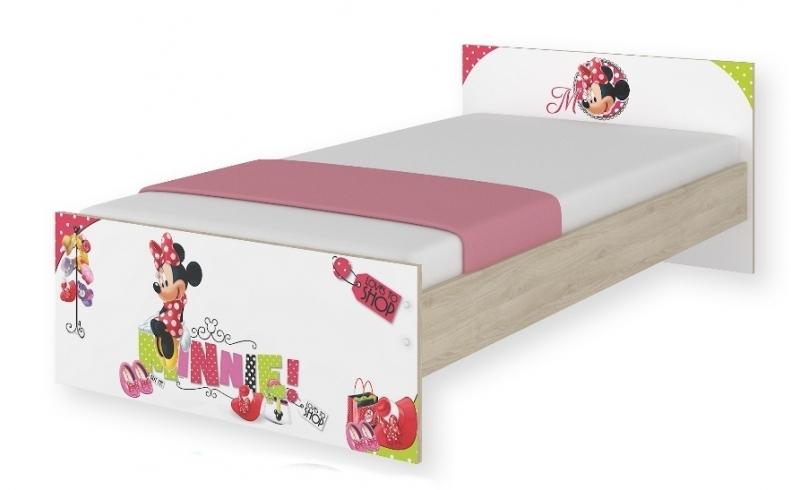 Detská junior posteľ Disney - Minnie, 180x90 cm