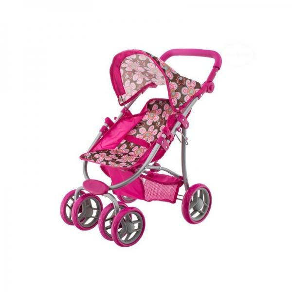 Euro Baby Športový kočík pre bábiky - Kvetinky