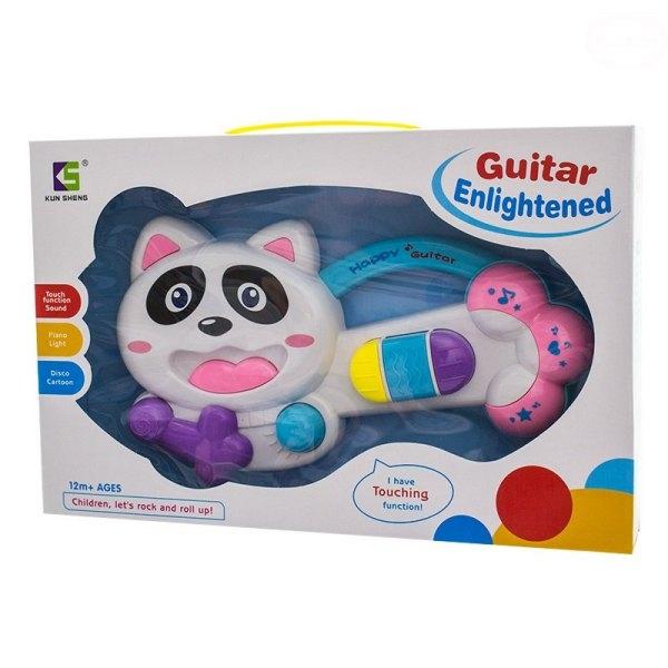 Edukačná hrajúci hračka - gitara - Mačička
