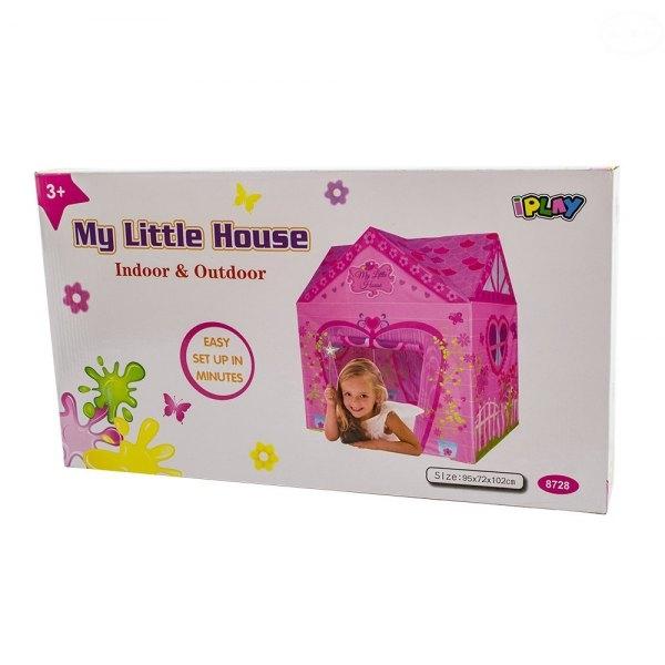Euro Baby Detský stan - domček pre dievčatka