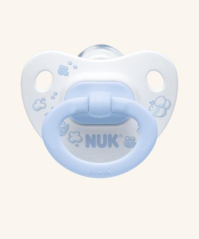 Cumlík NUK ROSE & BLUE - biely / modrý