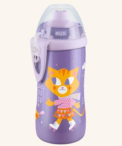 NUK Junior Cup fľaša 300 ml - Mačka