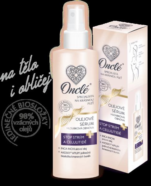 Luxusné olejové sérum Oncle s kmeňovými bunkami, 200 ml