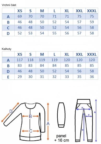 Tehotenská súprava 3 dielna - grafit