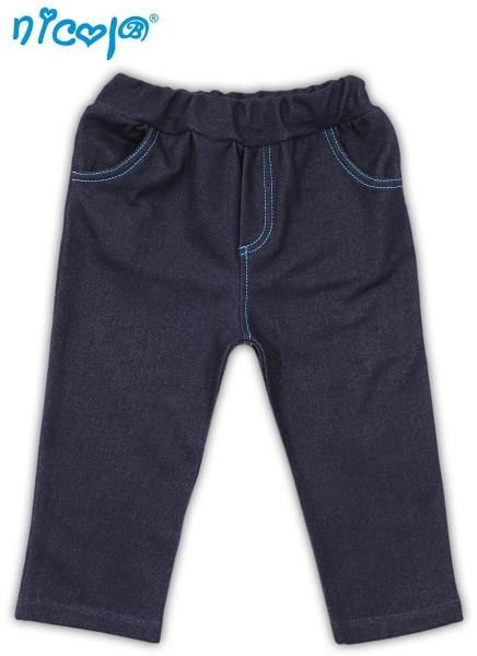 Tepláčky, nohavice TUČNIAK - jeansová-56 (1-2m)