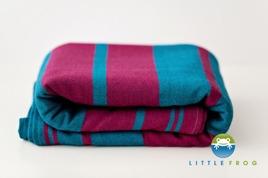 Little FROG Tkaný šatka na nosenie detí -  CHAROIT, XL