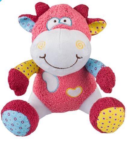BabyOno Edukačná hračka - hrkálka - Kravička Rosie