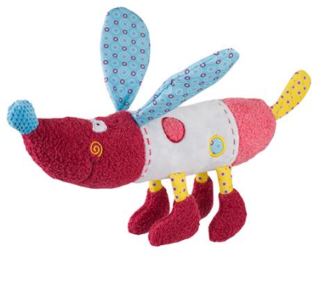 Edukačná hračka Baby Ono - hrkálka - Psík Rob