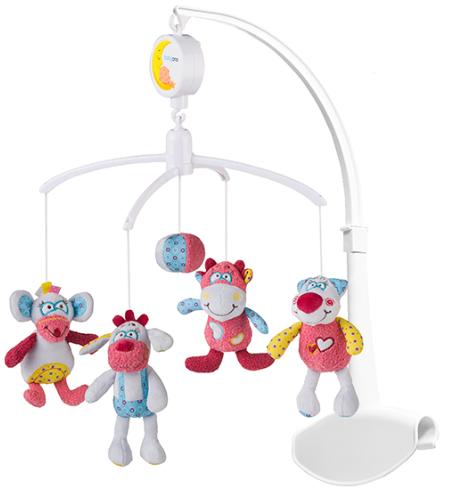 Kolotoč nad postieľku Baby Ono - Rosie a priatelia