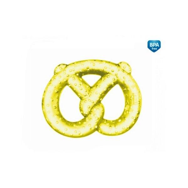 Hryzátko vodné, chladiaci Canpol Babies - Preclíček - žlté
