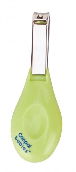 Klieštiky na nechty Canpol Babies - sv. zelené