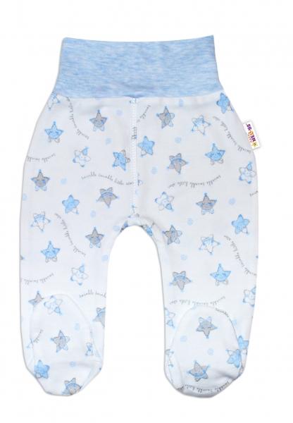 Polodupačky pre predčasne narodené bábätká Baby Nellys ®- Hvezdičky modré