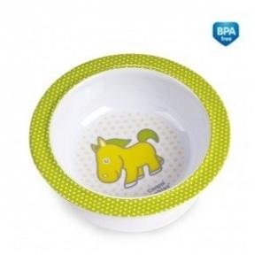 Melamínová miska s prísavkou Canpol Babies - Koníček