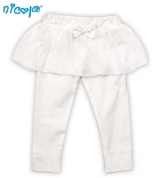 Bio legíny NICOL PRINCEZNA - s tutu sukienkou-56 (1-2m)