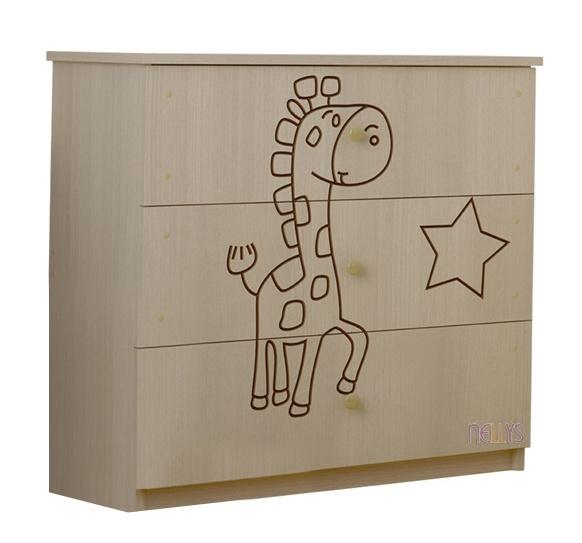 Detská komoda - Žirafka