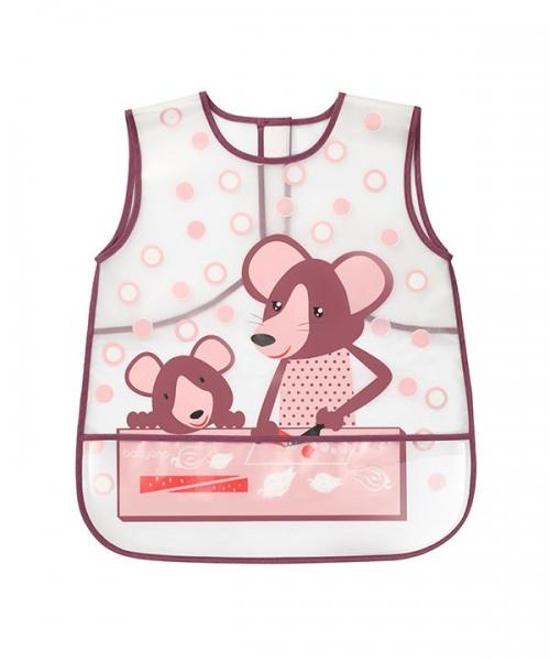 Detská zásterka CREATIVE BABY - Myšky