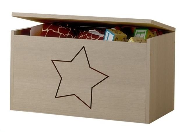 BabyBoo Box na hračky, truhlička Hviezda ku kolekcii Žirafka