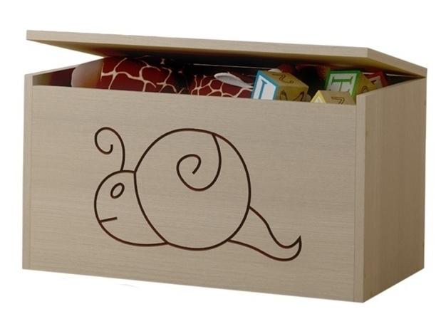 BabyBoo Box na hračky, truhlička Šnek