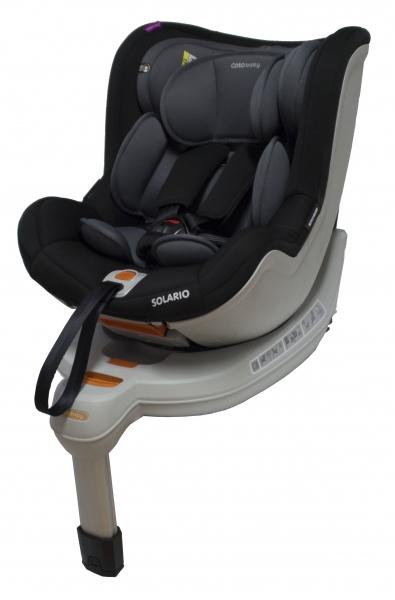 Autosedačka Solario - 0-18 kg sivá